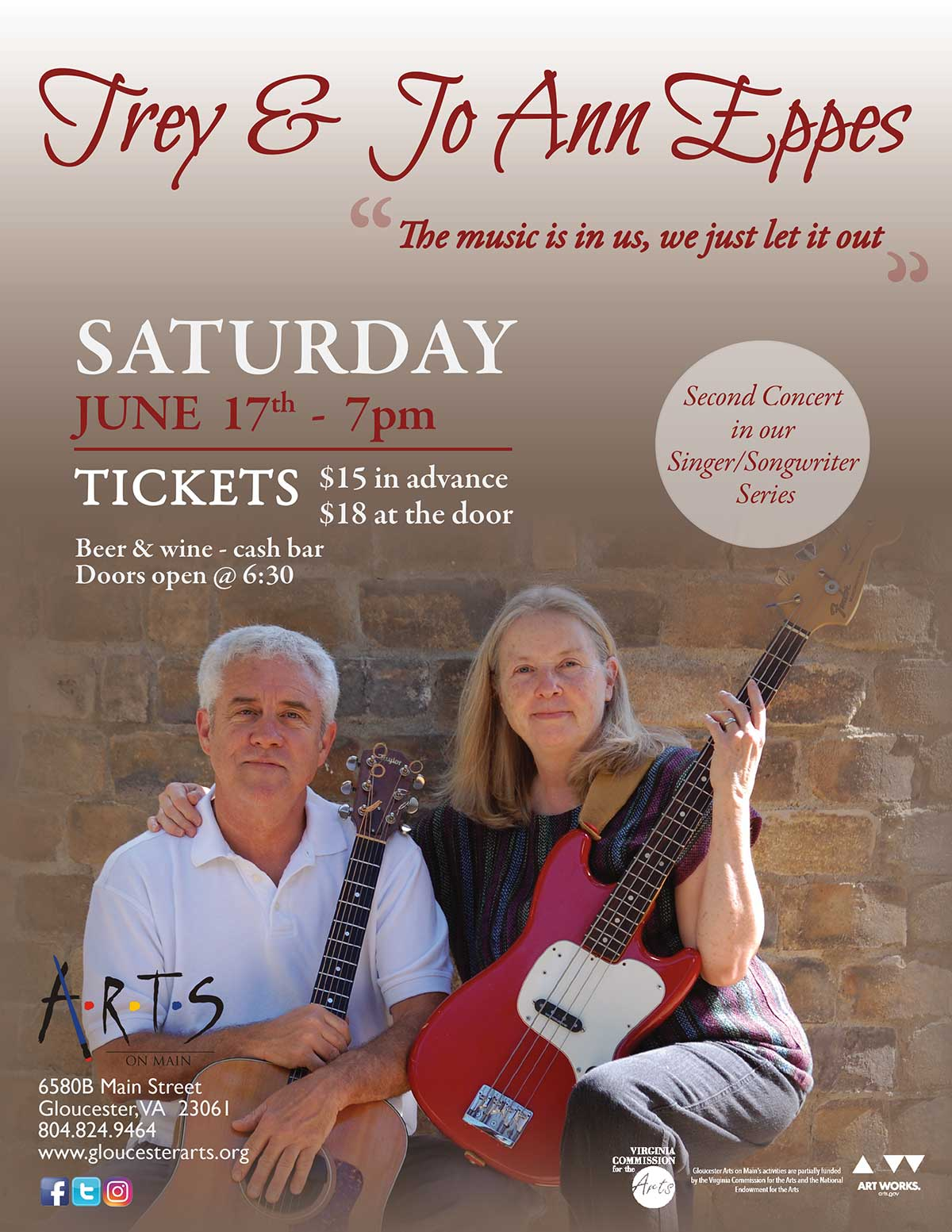 Live concert with Trey and Jo Ann Eppes